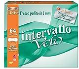 Lines Intervallo Velo Fiori&Agrumi x64 - Salvaslip distesi immagine