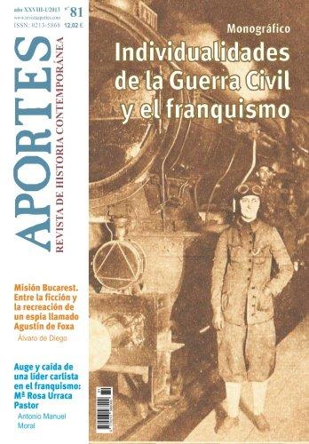 Aportes. Revista de Historia Contemporánea 81, XXVIII, (1/2013) por Aportes. Revista de Historia Contemporánea