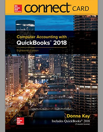 Mcgraw-hill Card Access Connect (Connect Access Card for Computer Accounting with QuickBooks 2018)