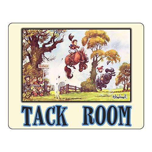 Thelwell Tack Room Schild Hof Schild Pferd Stall Schild Pferde