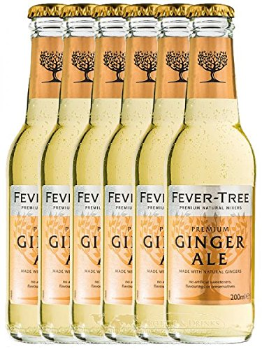 Fever Tree Ginger Ale 6 x 0,2 Liter