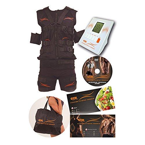 Gymform Electro Fitness Trainer Ganzkörper - Trainingsanzug in drei Größen (S/M, L/XL, XXL/XXXL) - Original aus TV-Werbung