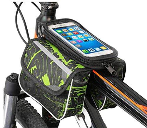 Bike Bag Bunte Fahrrad Lenker Pakete für 6 Zoll Telefon Multi-Funktions-Fahrrad-Zubehör#1