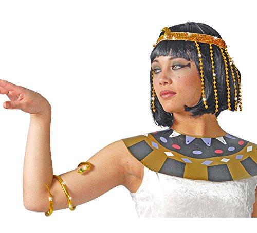 Kostüm Kind Cleopatra Ägyptische - Guirca Fiestas GUI16873 - Kleopatra-Set
