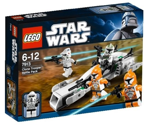 LEGO Star Wars 7913 - Clone Trooper Battle Pack - Wars Lego Star Spielzeug Clone