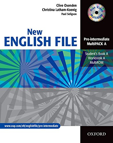 New English File Pre-Intermediate. MultiPACK a: Multipack A (Student's Book and Workbook in One) Pre-intermediate lev (New English File Second Edition)