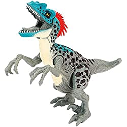 Valle de Dino - Velociraptor con efectos de sonido cm 24