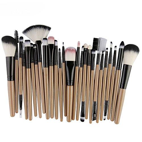 Daysing Make Up Pinsel Set 25 Stücke professionelles Kosmetikpinsel Pinselset Schminkpinsel lidschattenpinsel augen und wangen pinsel beauty tools