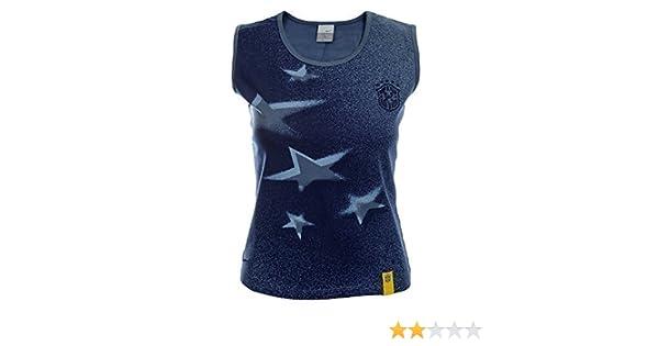 Brasile Nike Canotta Donna Shirt 296029 Blu Marino, M