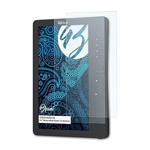 Bruni Trekstor eBook-Reader 3.0 (Weltbild) Folie - 2 x glasklare Displayschutzfolie Schutzfolie für Trekstor eBook-Reader 3.0 (Weltbild)