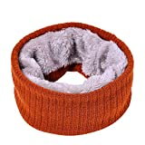 MIRRAY Damen Herbst Winter warme Schal Bufanda Dicke gestrickte Kragen Halstücher Kopftücher Pashminas Stolen Tücher
