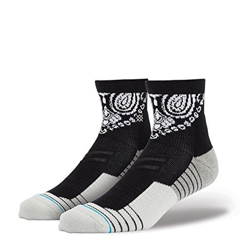 Stance Socken 3Fold Quarter - Fusion Athletic Schwarz (S / M , Schwarz) (Fitness-quarter Sock)