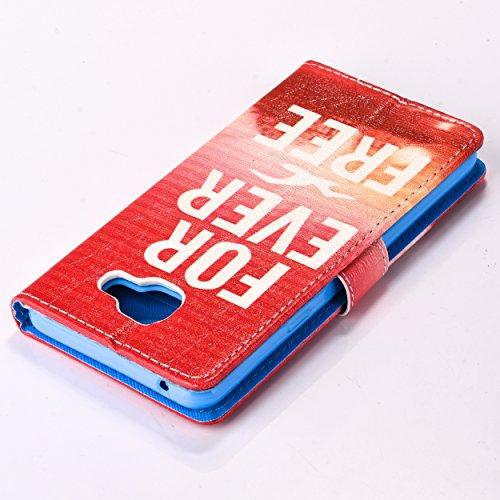 Coque pour Apple iPhone 6/6S 4.7 Zoll,Housse en cuir pour Apple iPhone 6/6S 4.7 Zoll,Ecoway Colorful imprimé étui en cuir PU Cuir Flip Magnétique Portefeuille Etui Housse de Protection Coque Étui Case mouette