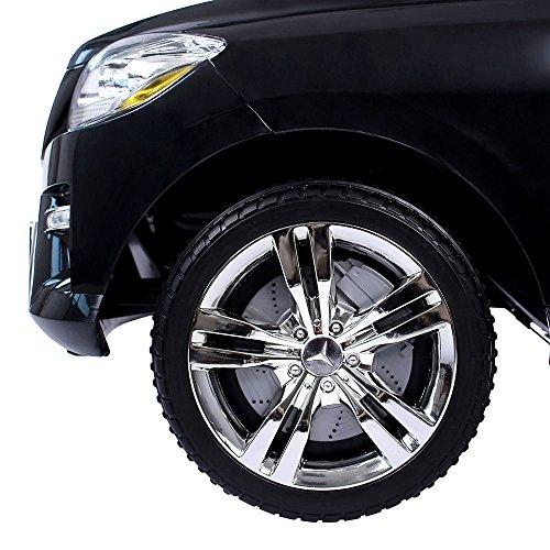 RC Auto kaufen Kinderauto Bild 6: Mercedes-Benz ML Kinder Auto Elektroauto Kinderauto Elektrofahrzeug Kinderfahrzeug mit 2 Motoren MP3 Fernbedienung. Farbe: Schwarz*