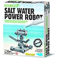 Price comparsion for Construct Your Own Salt Water Powered Robot - Simple To Create Set - Number One Educational - Educational Science Present Gift Ideal For Christmas Xmas Stocking Fillers Age 8+ Girls Boys Kids Children