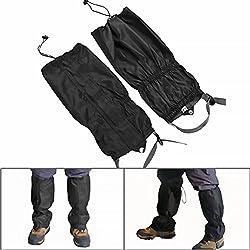 Naisicatar Guêtres de Pattes de Neige Guêtres de randonnée Camping Chasse Escalade Marcher en Plein air Guêtres de Legging imperméable à l'eau Snow Leg Legging Cover X 1