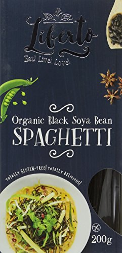 Liberto Organic Black Bean Spaghetti [200g] (Pack of 3)