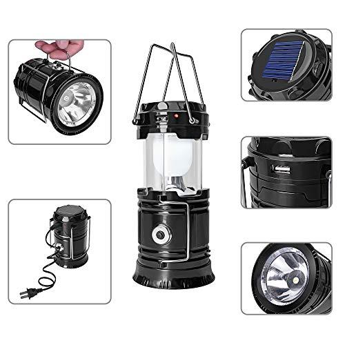 Portable Outdoor LED Camping Light - Ideal für Camping, Outdoor, Shack, Dachboden, Garage/Nachtbeleuchtung [batteriebetrieben | wasserdicht] Wandern/Erste Hilfe/Angeln/Gartenarbeit