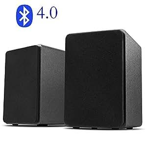 desktop stereo lautsprecher f r handy pc bluetooth usb. Black Bedroom Furniture Sets. Home Design Ideas