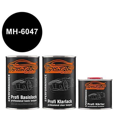 Preisvergleich Produktbild Autolack Set Dose spritzfertig Ford / Lincoln / Mercury MH-6047 Spinnaker Blue Basislack + 2K Klarlack 2, 5L