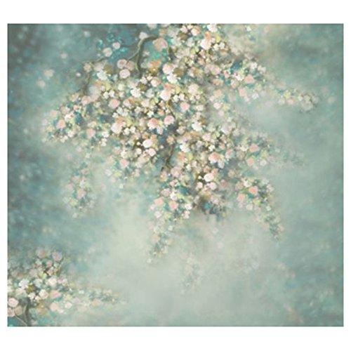*TOOGOO(R)FOTOGRAFIE Kulisse Tapeten Vinyl Prop Blumen Wand 5X7 FT*