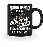 Shirtee Lokführer Zugführer Eisenbahner Eisenbahn Zug Züge Lok Geschenk - Tasse