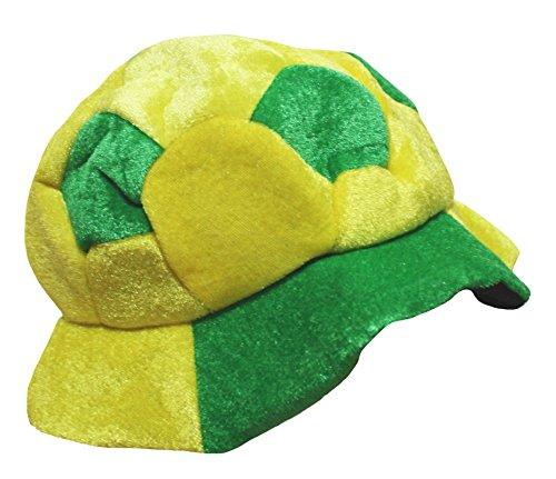 gelb grün Fußball Hat Unisex Kinder Kleidung Gr. One size, Mehrfarbig (Mädchen Fußball Halloween Kostüme)