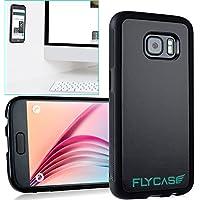 FLYCASE® [ Samsung-Galaxy-S7 Anti-Gravity-Hülle ] Anti-Schwerkraft-Schutzhülle Selbstklebende Nano-Technologie   PERFEKTE PASSFORM   Goat-Case Anti-Slip Selfie-Hülle FlyCase S7