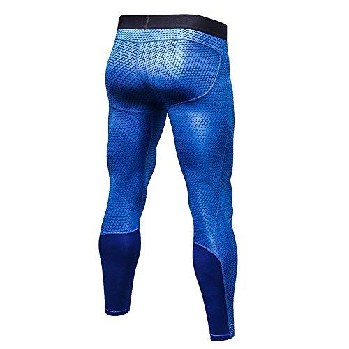 Zoom IMG-1 bmeigo uomo workout leggings 3d