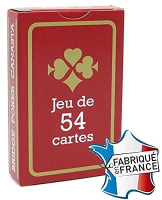 FRANCE CARTES - Jeu de 54 Cartes