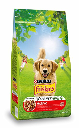 Friskies cane secco active - 4000 gr