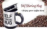 #5: Home Soul Automatic Self Stirring Coffee Mug with Lead Heavy Duty Motor , Color Black