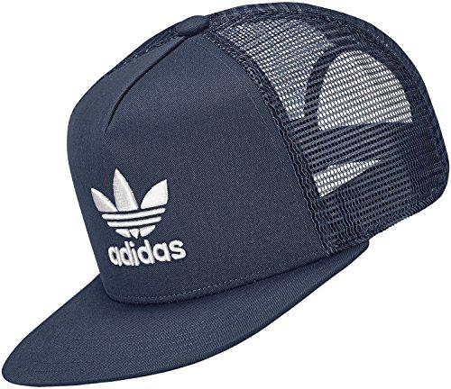 Adidas Trefoil Trucker Cap, Unisex Erwachsene, Unisex – Erwachsene, TREFOIL TRUCKER, blau, OSFW
