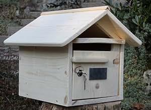 boite aux lettres bois maillat 1 porte jardin. Black Bedroom Furniture Sets. Home Design Ideas