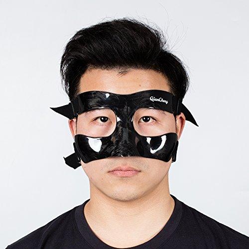 QianCheng nose Guard Face Shield, maschera protettiva in fibra di carbonio–Frost modello qc-pro-mc