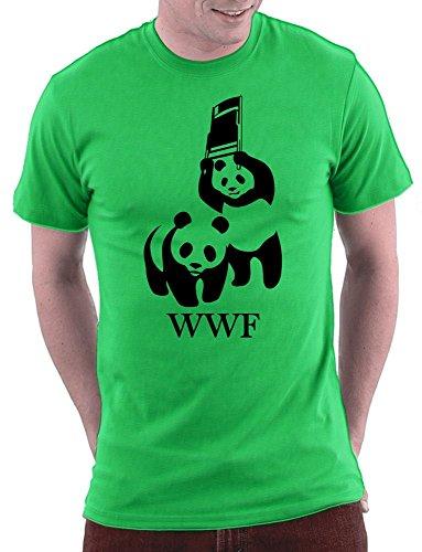 WWF Parodie T-shirt Kellygreen