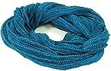 Guru-Shop Weicher Loop Schal/Stola, Magic Loop, Weste, Herren/Damen, Türkis, Baumwolle, Size:One Size, Schals Alternative Bekleidung