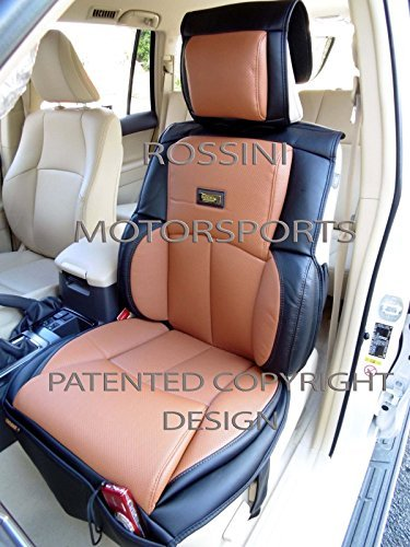 Preisvergleich Produktbild Mazda 3Autositzbezüge YS 09Tan + schwarz Rossini Motorsports PVC Kunstleder