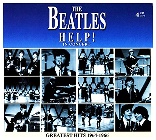 THE BEATLES - HELP! IN CONCERT: GREATEST HITS 1964-'66-4 CD SET - Help Beatles Cd