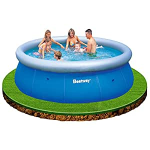 Bestway 57164 fast set pool 366 x 91cm garten for Garten pool 366