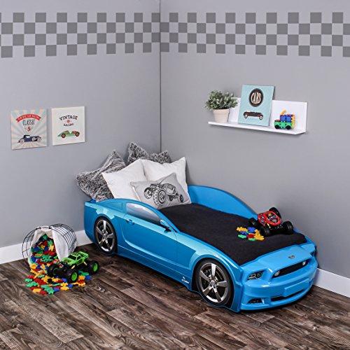 #KAGU Autobett Kinderbett Jungendbett Juniorbett im Design eines echten Autos auch mit LED-Beleuchtung erhältlich. Praktisches und bequemes Bett für Ihr Kind.#