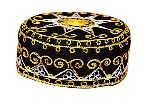 nelle Arabische Kopfbedeckung - Araber - Karnevalskostüm/Farbe: schwarz ()