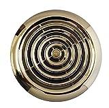 Blauberg UK - Rejilla de ventilación interna redonda cromada de 100 mm