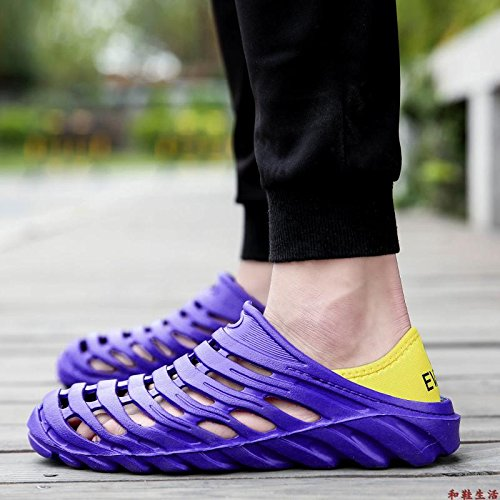 Xing Lin Plage Flip Flop Hommes New Sport De La Deuxième Génération De Chaussures Chaussures Beach Forum D'été Léger Slip Taille Large Sandales Bleu Chaussons Trois Générations