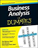 By Kupe Kupersmith - Business Analysis For Dummies