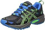 Asics Gel-Venture 5 GS, Zapatillas de Deporte Infantil, (Aluminum/Green Gecko/Diva Blue), 36 EU