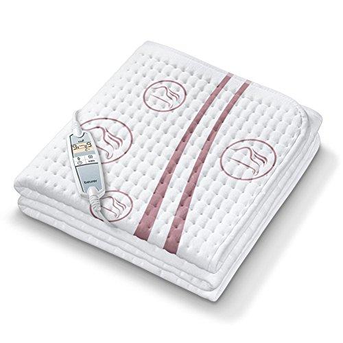 Beurer UB 90 Komfort Wärme-Unterbett, anschmiegsame Wärmebettunterlage, zwei separat einstellbare Temperaturzonen