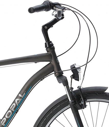 51EO7FbGqJL - POPAL CityFlex 28 Inch 50 cm Men 3SP Rim Brakes Grey