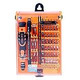 BECROWM EU Kit de Tournevis 52 en 1 pour Ordinateur Portable, Micro de précision, pour Jouets, Avions, iPhone, iPad, tablettes, PC, Drone UAV, kit d'outils de réparation de précision