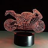 Lampada Da Tavolo Per Auto A Sfioramento Touch Nightlight Colori Multipli Cambio Motocicletta Luce Da Notte Lampada Led 3D In Acrilico Lampada Da Regalo Per Bambini